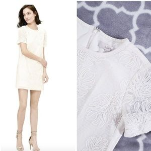 Loft Cream / White Palm Stitched Dress